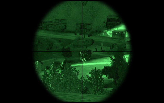 arma 3 how to look through scope